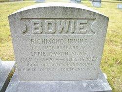Effie <i>Gwynn</i> Bowie