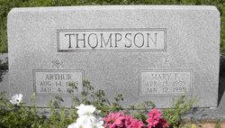 Mary <i>Franklin</i> Thompson