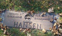 Marjorie N <i>Taylor</i> Hansen