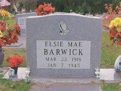 Elsie Mae <i>Brown</i> Barwick