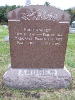Margaret <i>Picken</i> Andrew