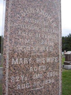 Mary <i>Brown</i> Andrew