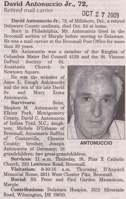 David Antonuccio, Jr