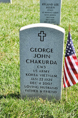 George John Chakurda, Sr