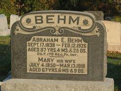 Abraham Eby Behm