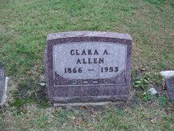 Clara A <i>Black</i> Allen