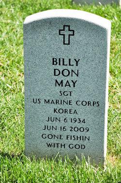 Billy Don May