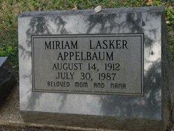 Miriam <i>Lasker</i> Appelbaum