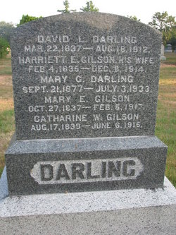 Harriett E <i>Gilson</i> Darling
