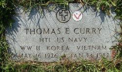 Thomas E Curry