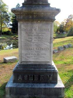 Hannah <i>Rathbun</i> Ashbey