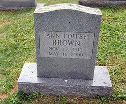 Ann <i>Coffey</i> Brown