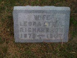Leora Ethel <i>Colburn</i> Richardson