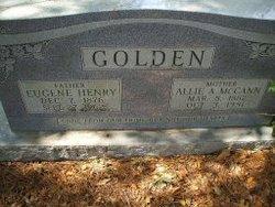 Allie Angelina <i>McCan</i> Golden