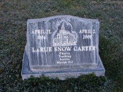 LaRue <i>Snow</i> Carter