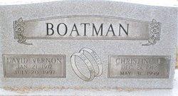 Christine O Boatman