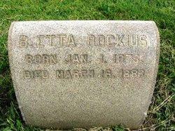 Barbara Etta Bockius