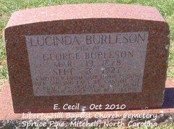 Lucinda <i>Silver</i> Burleson