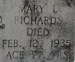 Mary Elmine <i>Green</i> Richards