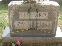 Mary Nancy Mildred <i>Jenkins</i> Hilliard