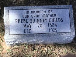 Phebe <i>Quinney</i> Childs