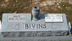 Ama G <i>Jones</i> Bivins