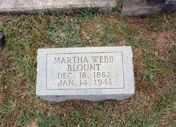 Martha <i>Webb</i> Blount
