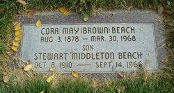 Cora May <i>Brown</i> Beach