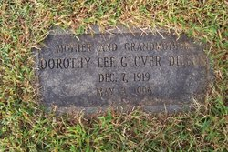 Dorothy Lee <i>Glover</i> Dillion