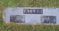 Sarah <i>Rash</i> Allen