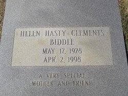 Helen Clements <i>Hasty</i> Biddle