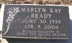 Marlyn Kay <i>Kratzer</i> Brady