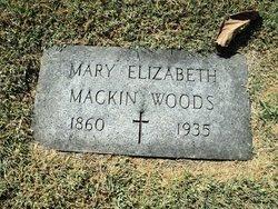 Mary Elizabeth <i>Mackin</i> Woods
