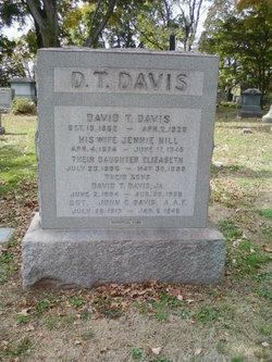 Jennie <i>Hill</i> Davis