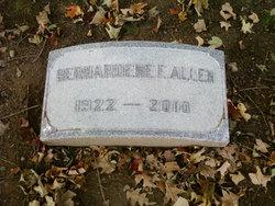 Bernardene E Allen