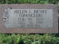 Helen L. <i>Spangler</i> Henry