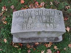 Mary Frances <i>Sherman</i> Hatfield