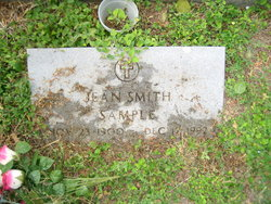 Jean <i>Smith</i> Sample