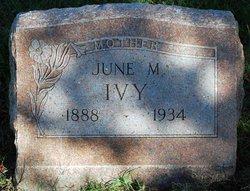 June M Ivy