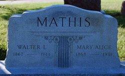 Walter L Mathis