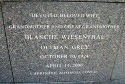 Blanche <i>Wiesenthal</i> Grey