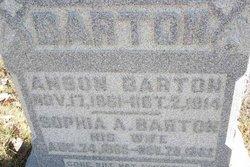 Sophia A <i>Blackburn</i> Barton