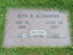 Ruth Beulah <i>Martin</i> Alexander
