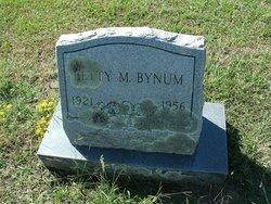 Betty Maurine Taylor <i>Bruton</i> Bynum