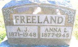 Anna Lila <i>Morgan</i> Freeland