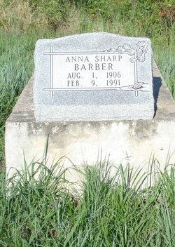 Anna <i>Sharp</i> Barber