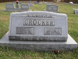 Lottie Jane <i>DeRossett</i> Crocker