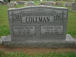 Frances <i>Tweedy</i> Coleman
