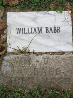 William Benjamin Babb