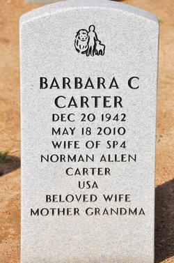 Barbara C Carter